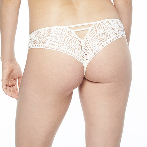 Passionata Holala thong P55070 | SHEEN UNCOVERED, Pearl Pink
