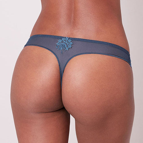 Wish Petrol Blue Thong