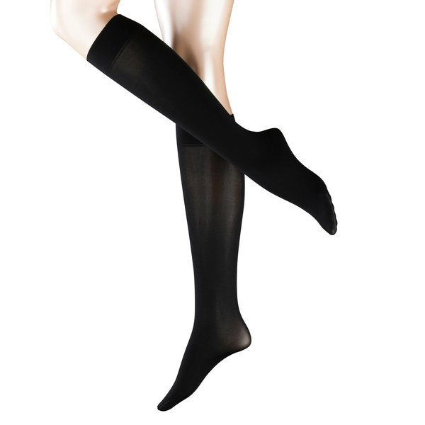 Pure matt 50 knee high socks, black