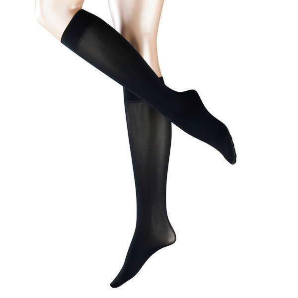 Pure matt 50 knee high socks, marine
