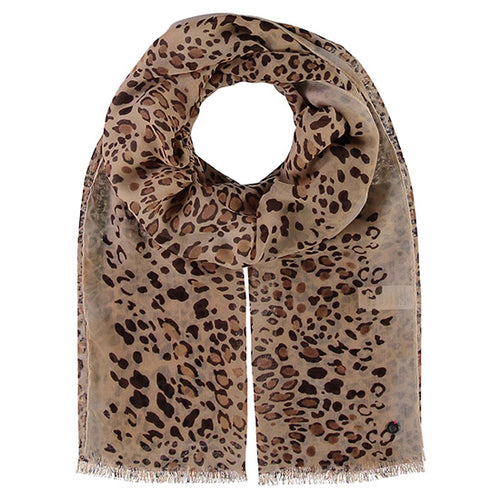 Fraas Polyester Scarf 050/180 AW19 | SHEEN UNCOVERED, Beige