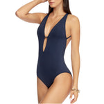 Jets Plunge One Piece Side View J10170 | SHEEN UNCOVERED, Ink