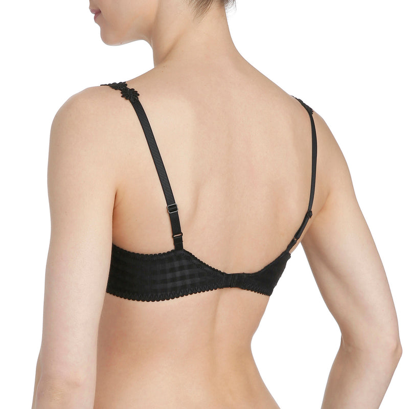 Avero push-up t-shirt bra, Black