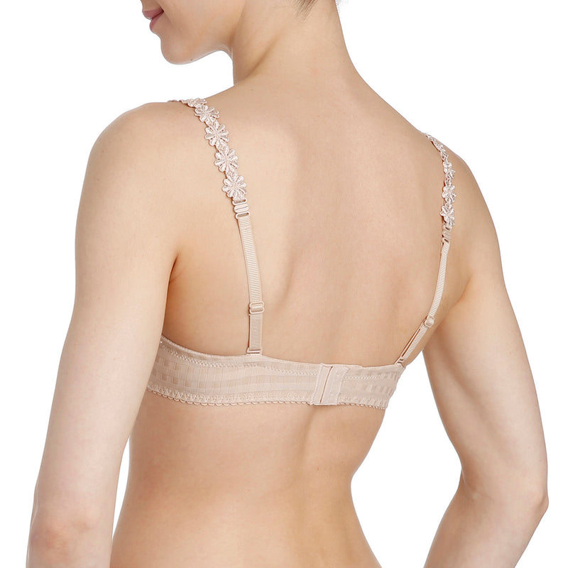 Avero Balconette t-shirt bra 0100419 back, Nude