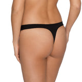 Deauville thong, Black