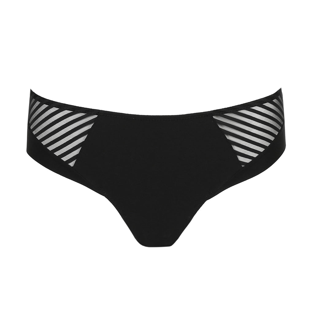 Marie Jo Salvador Rio brief #0521890 | SHEEN UNCOVERED, black