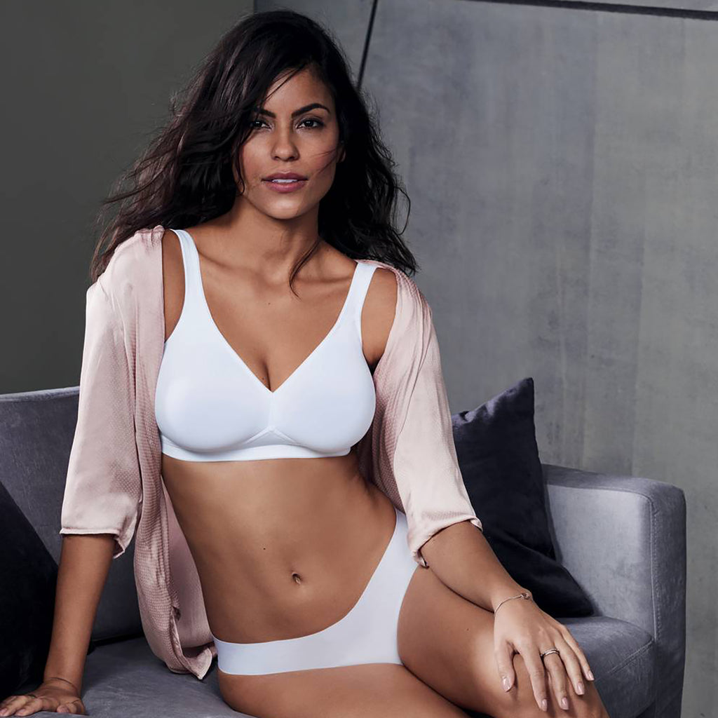 Anita Twin Soft Cup Bra White #5493 006| SHEEN UNCOVERED