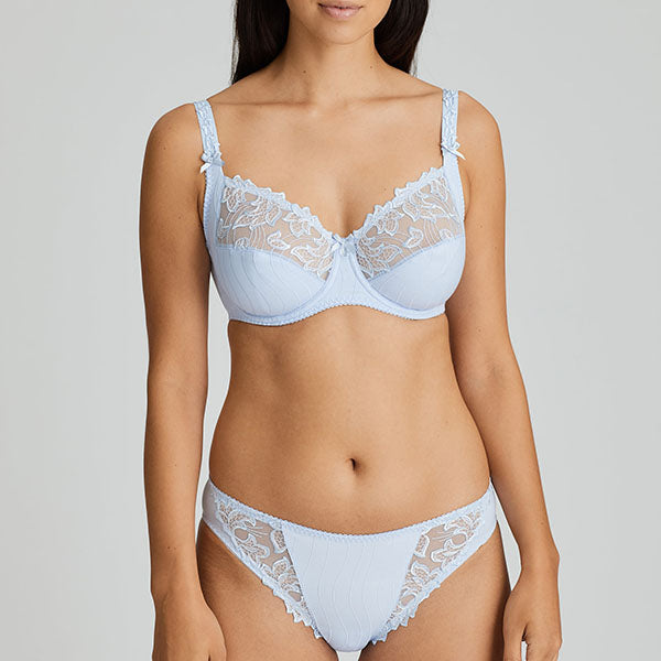 Deauville Heather Blue Full Cup D - E  Bra