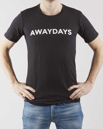 AWAYDAYS T-SHIRT (BLACK)