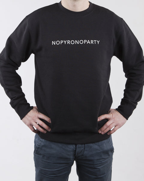 NOPYRONOPARTY (black)