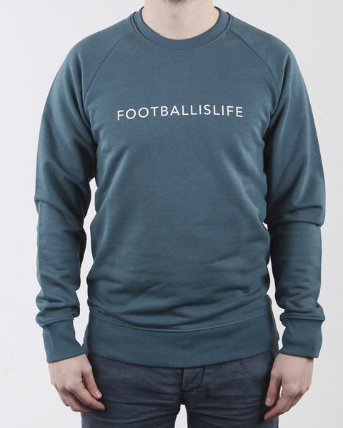 Football is life sweater (Green) voetbal trui