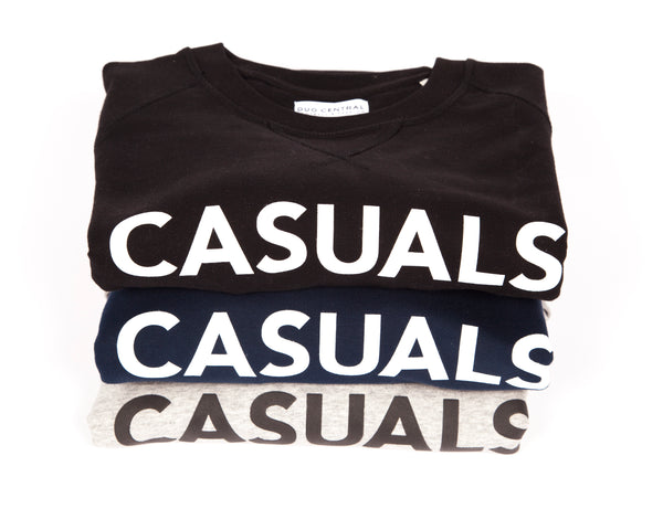 CASUALS (Grey)