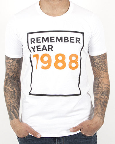 REMEMBER YEAR 1988