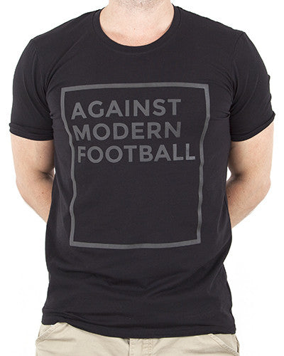 Against modern football shirt