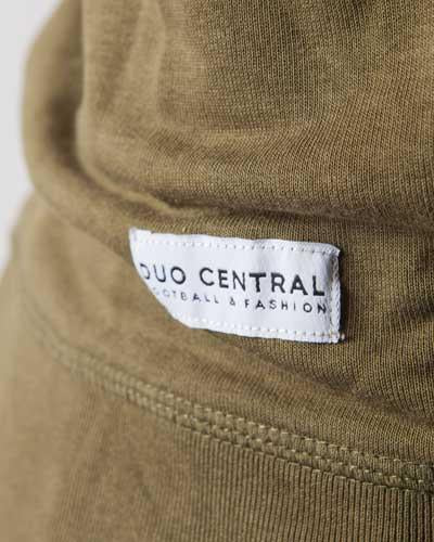 Matchday-sweater-Olive-green-Football-sweater-Duo-Central-Label
