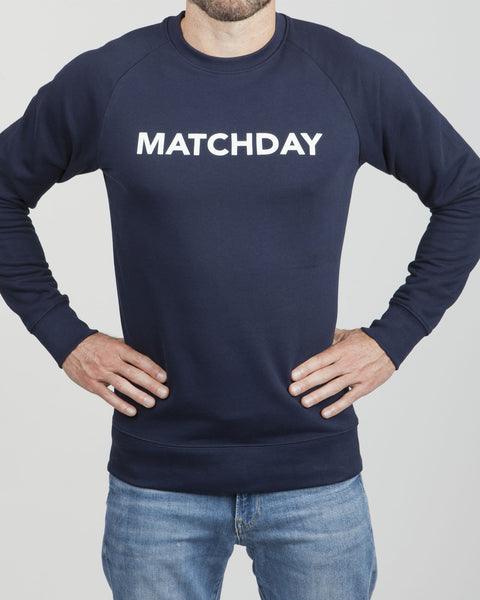 MATCHDAY SWEATER (Navy Blue, new style)