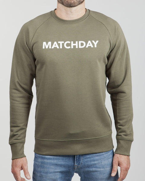 MATCHDAY SWEATER (Olive)