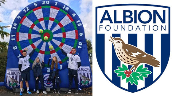 West Brom Kick Darts