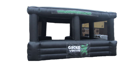 Inflatable Kiosk / Building - 20 x 20 ft - Max Leisure