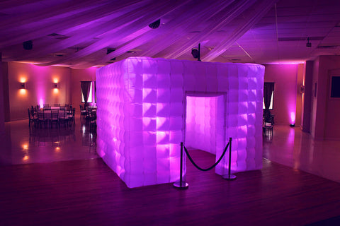 3 Meter Inflatable LED Event Cube