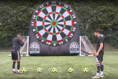 Inflatable Football / Golf Dartboard -