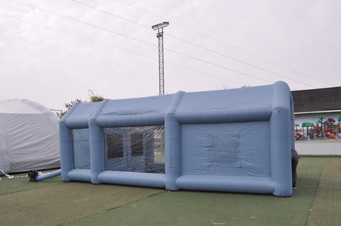 Inflatable Spray Paint Booth