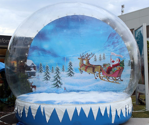 Inflatable Snow Globe - Max Leisure
