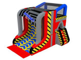 Inflatable Warped Wall Slide - Max Leisure