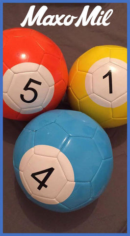 Foot Pool Table Balls - Max Leisure