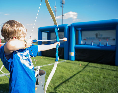 Inflatable Archery Range Game - Max Leisure