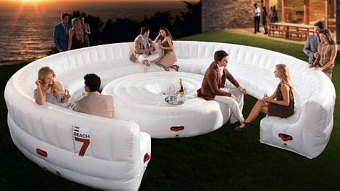Outdoor 20 Seat Round Inflatable Garden Party Sofa -