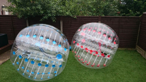6 Bubble Football Suits - Max Leisure
