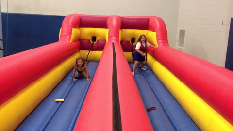 Inflatable Bungee Run -