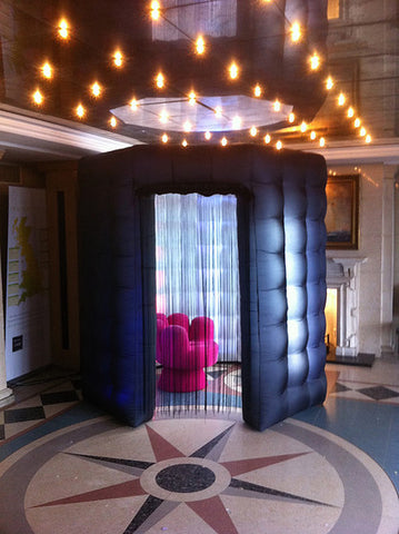 Inflatable LED Photo Booth Octagon Tent - MaxoMil