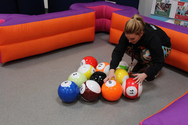 Inflatable Foot Pool Table Snook Ball Tables For Sale Max Leisure
