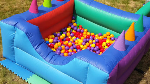 Inflatable Air Juggler Ball Pool -