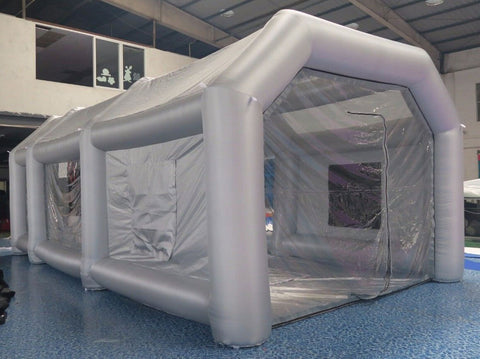 Inflatable Spray Paint / Powder Booth -
