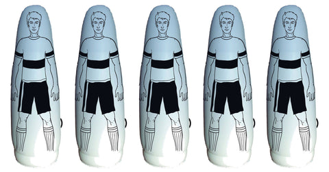5 Inflatable Football Training Dummy Air Mannequin -