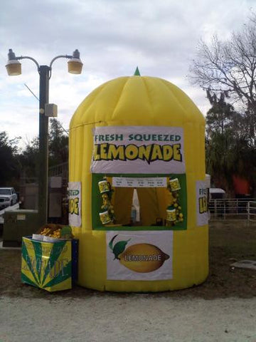 Inflatable Lemonade Booth - Max Leisure