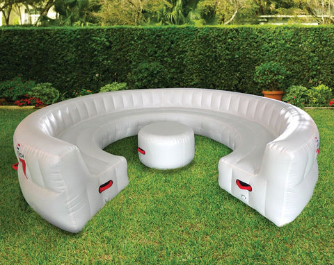 Outdoor 20 Seat Round Inflatable Garden Party Sofa