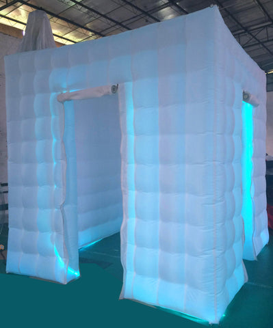 Inflatable Photo Booth Cube - Max Leisure