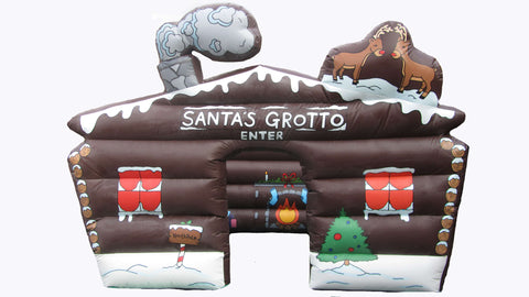 15 x 12 ft Inflatable Santas Grotto -