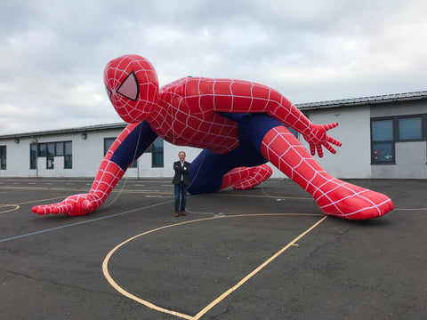 Giant Inflatable Spiderman - Max Leisure
