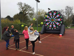 Inflatable Football / Golf Dartboard