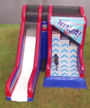 Inflatable Warped Wall Slide -