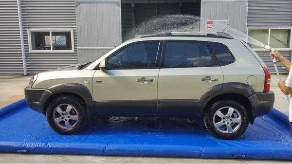 Inflatable Car Wash Water Containment Mat Max Leisure