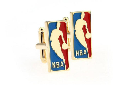 NBA Men's stylish Cufflink - justwhiteshirts
