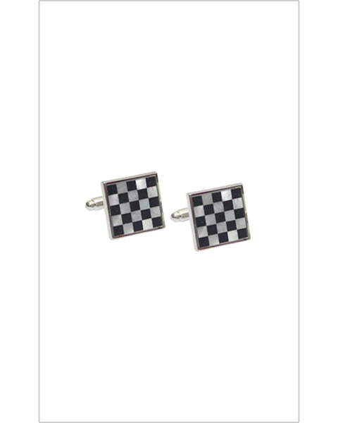 Chess Board Design Cufflinks
