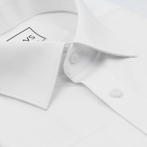 MODIFIED COLLAR FRENCH CUFF, THE ULTIMATE WHITE SHIRT