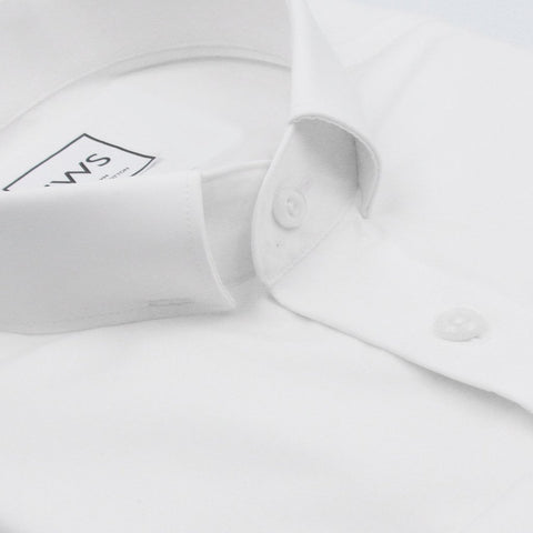 PRIESTS' COLLAR BUTTON CUFF, THE ULTIMATE WHITE SHIRT